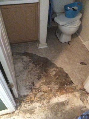 Water Damage Restoration from a Burst Pipe in Smyrna, GA (1)